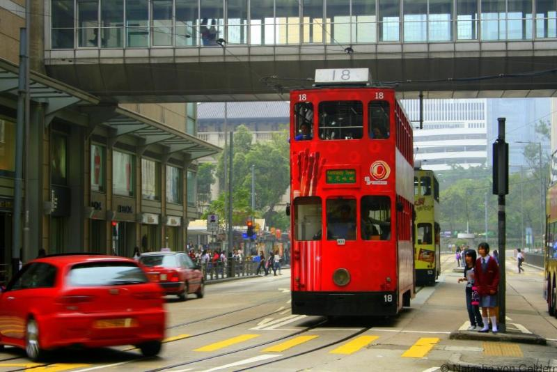 Hong Kong Ding Ding trams