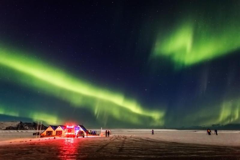 Iceland - nordurljos-jokulsarloni-vetur-fon