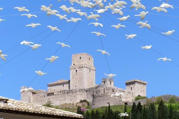 Assisi castle, Umbria Italy