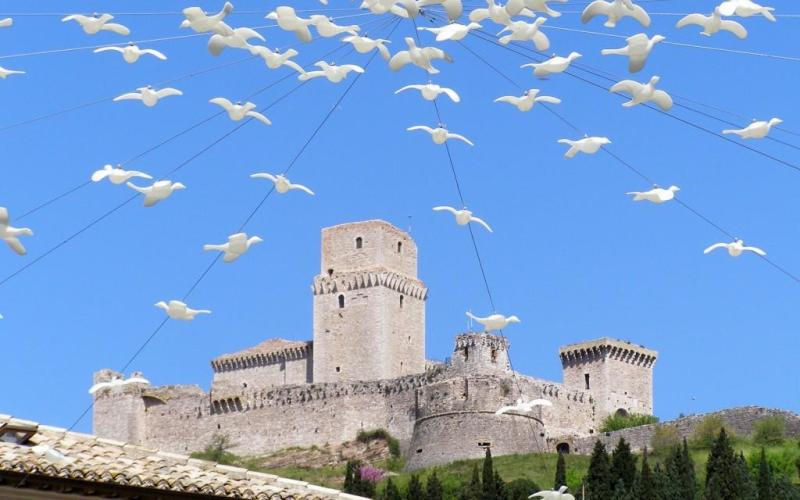 Assisi castle, Umbria Italy