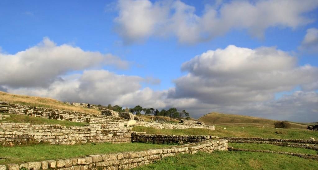 Housesteads Roman Fort Hadrians Wall England
