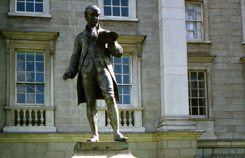 Oliver Goldsmith Trinity College Dublin
