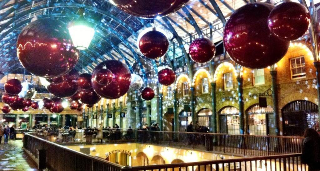 Covent Garden Christmas London