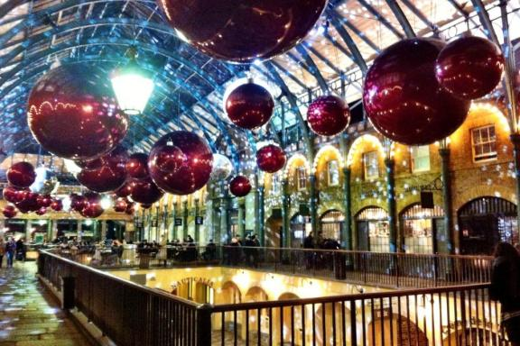 Covent Garden Christmas London