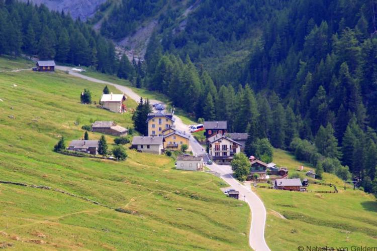 Ferret village, Switzerland