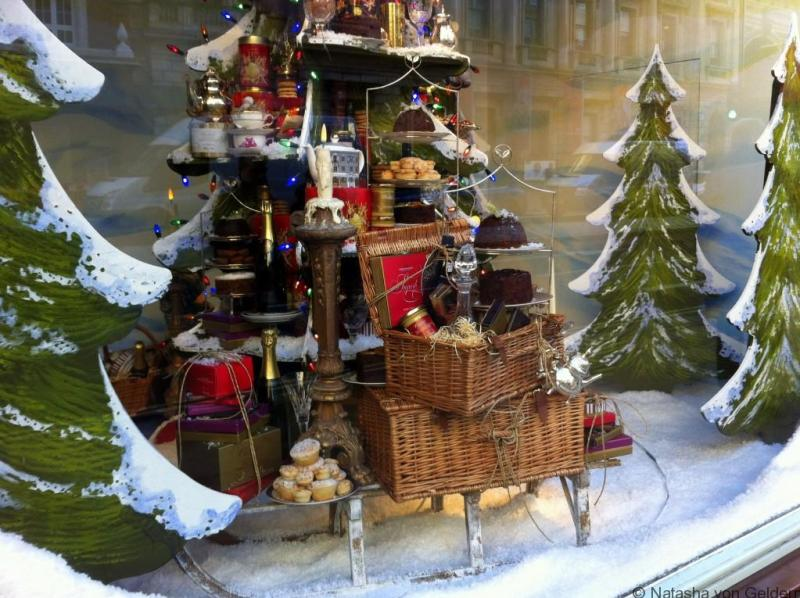 Fortnum & Masons Christmas windows London