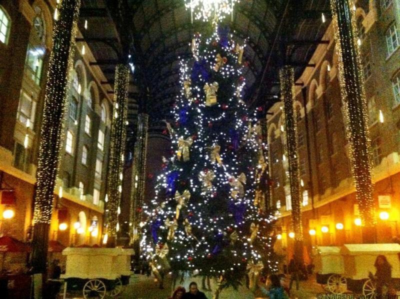 London Christmas Tree - Hays Galleria