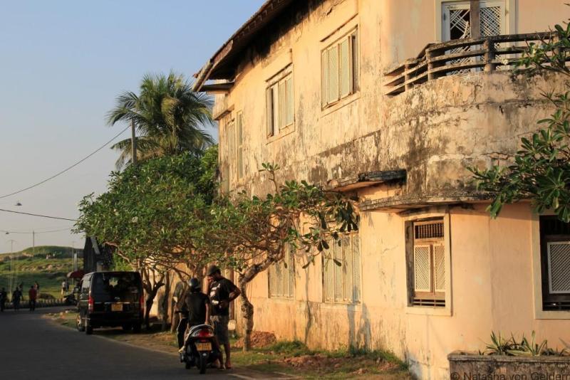 Galle Fort houses, Sri Lanka