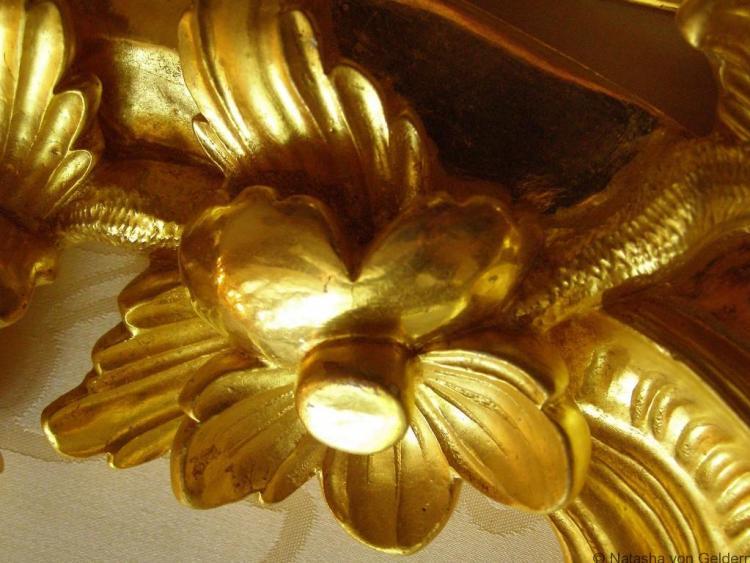 Catherine Palace interior detail, Photo by Natasha von Geldern