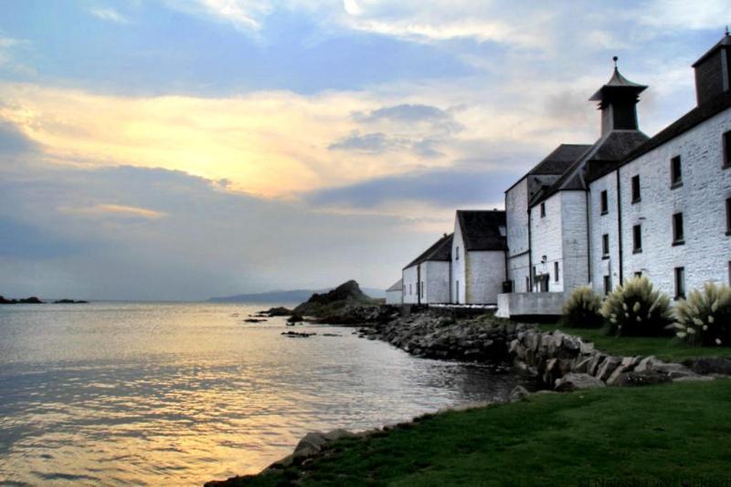 Laphroaig Distillery Islay Scotland