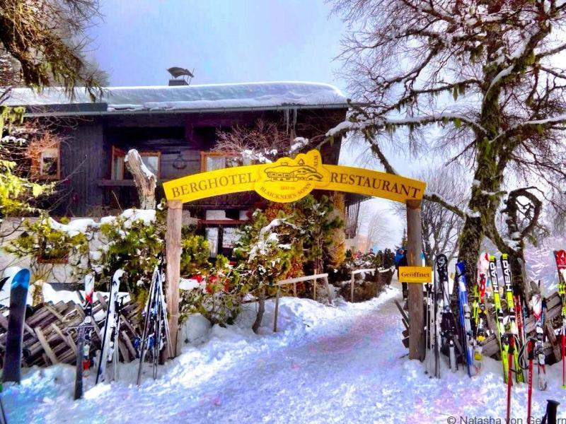 Zell am See alpine restaurant Austria