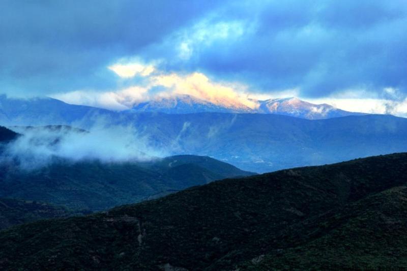 Lefka Ori mountains in Crete