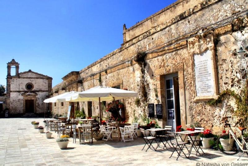 Marzamemi cafe Sicily