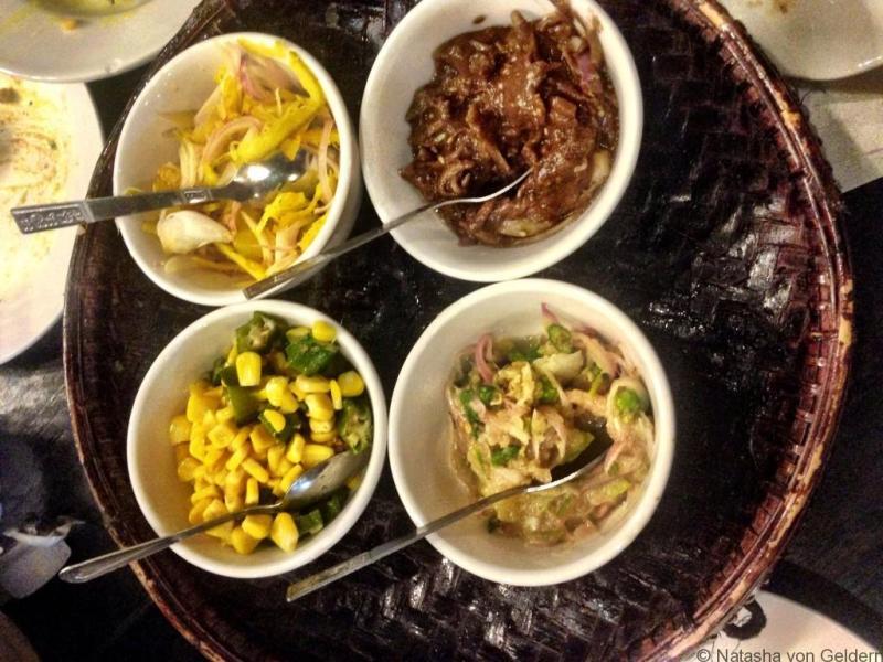 Anya Ahta restaurant food Yangon Myanmar