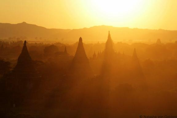 Bagan sunset, Myanmar