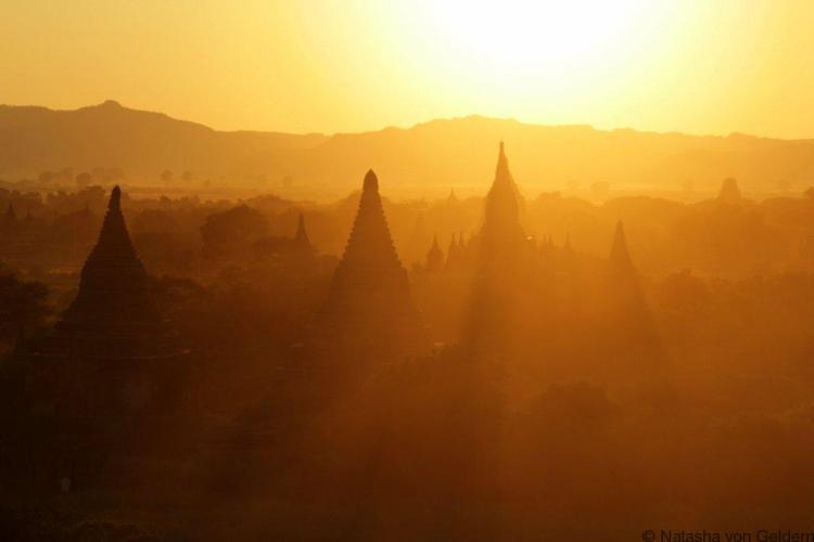 Bagan sunset, Myanmar