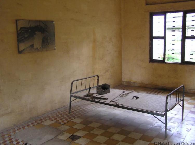 Interrogation cell S-21 Cambodia