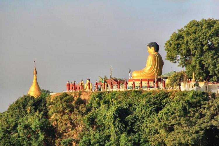 Mandalay to Bagan boat Sagaing Myanmar