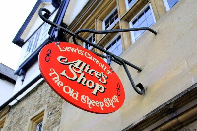 Alice's Shop in Oxford Photo by Natasha von Geldern