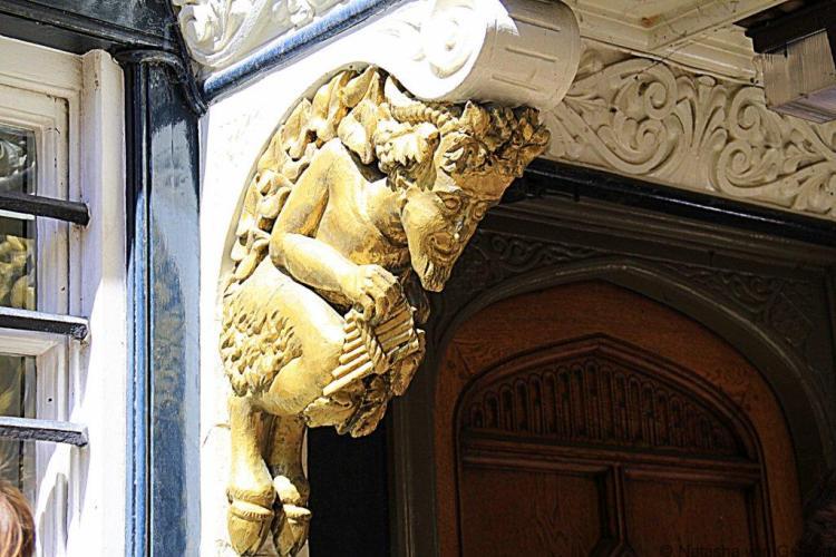Oxford faun CS Lewis Narnia