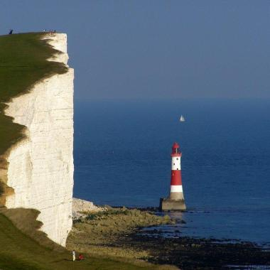 Seven Sisters Lighthouse Eastbourne England