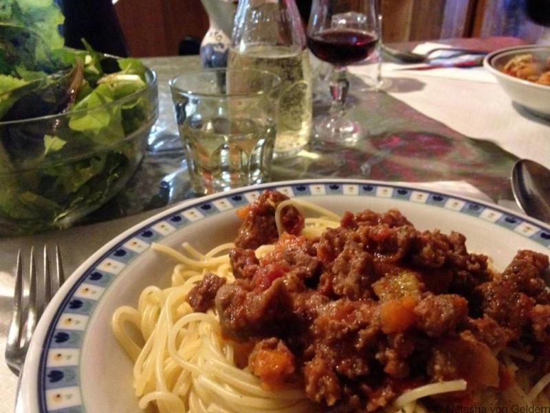 """Vakarienė """"Rifugio San Marco"""" - žygiai po Dolomitus"""