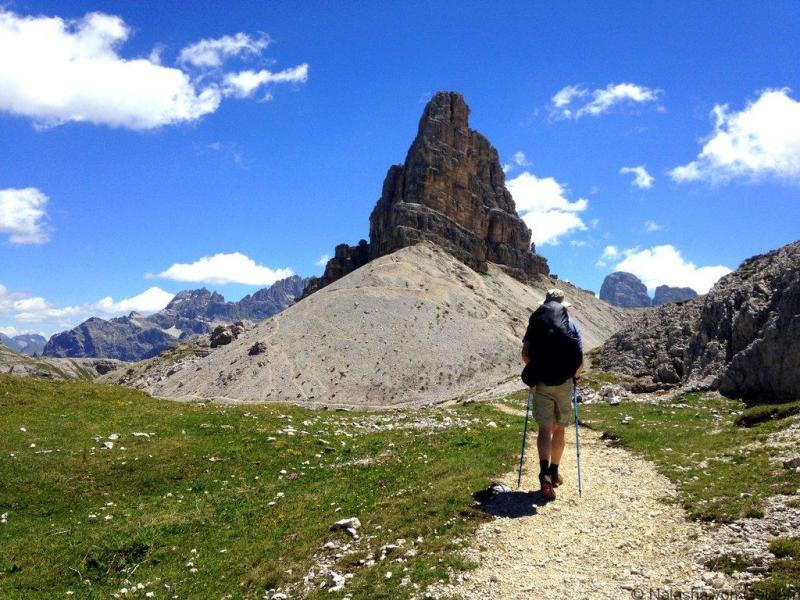 Žygiai Dolomitinių kalnų Italijoje