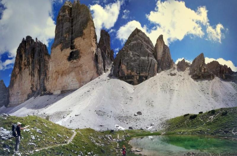 Tre Cime di Lavaredo - hike in the Dolomites
