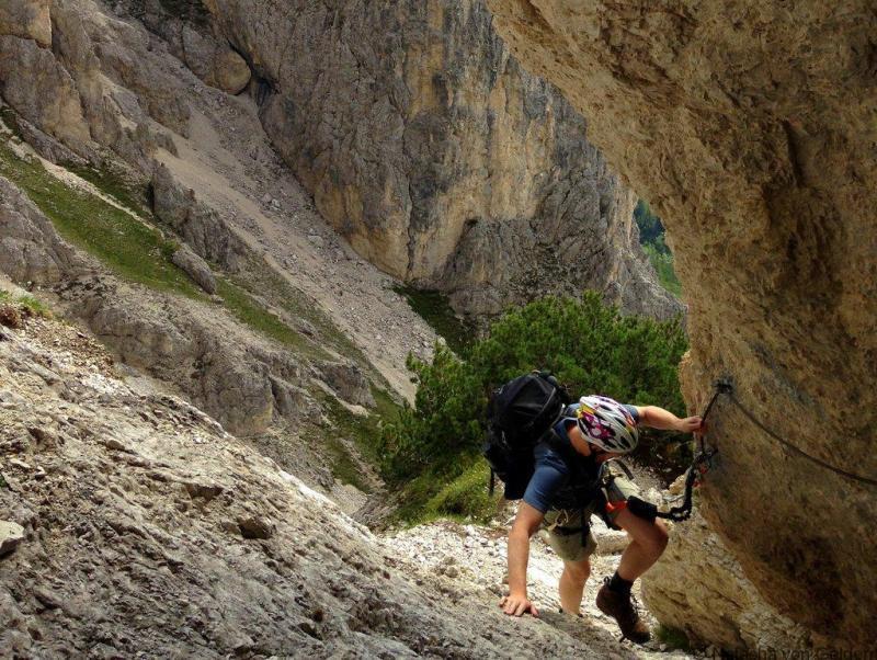 Via Ferrata Alta Via 4 Dolomites Sentiero Bonacasso
