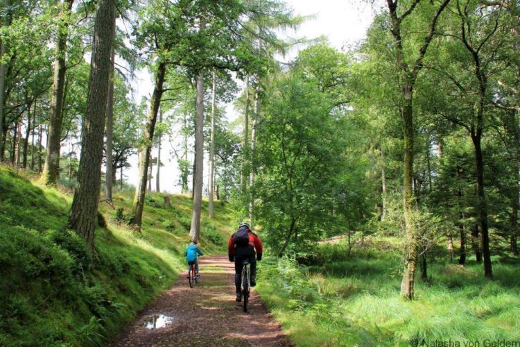 Eskdale Trail cycle route Lake District