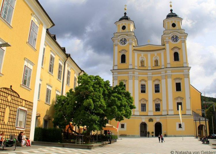 St Michael's church Mondsee Sound of Music wedding church Austria