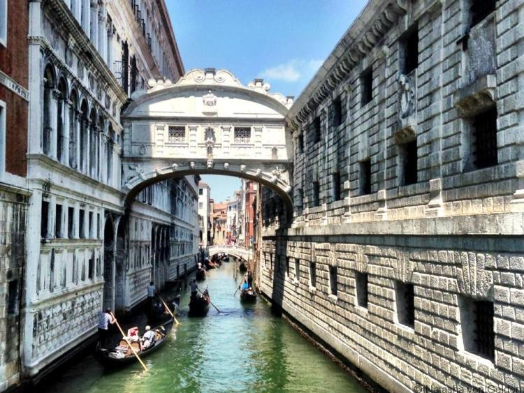 Venice Bridge of Sighs Italy