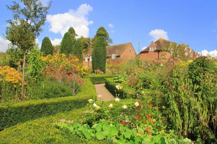 Culpeper Garden Leeds Castle Kent England