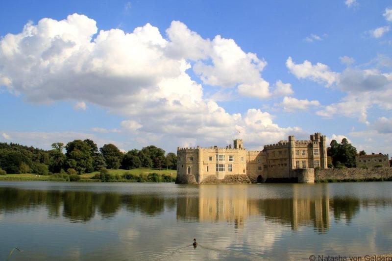Leeds Castle Kent United Kingdom