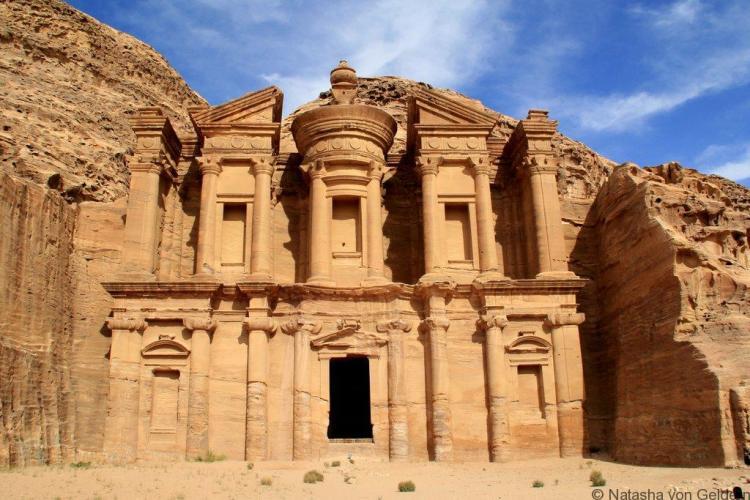 The Monastery Petra Jordan