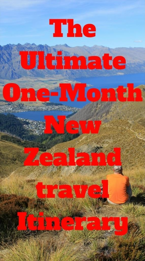 The Ultimate One-Month New Zealand travel Itinerary