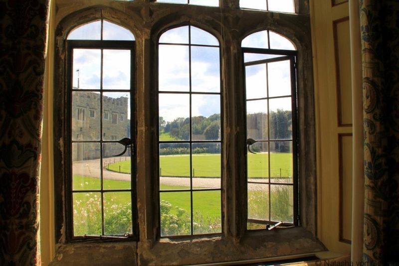 Windows of Leeds Castle KentWindows of Leeds Castle Kent