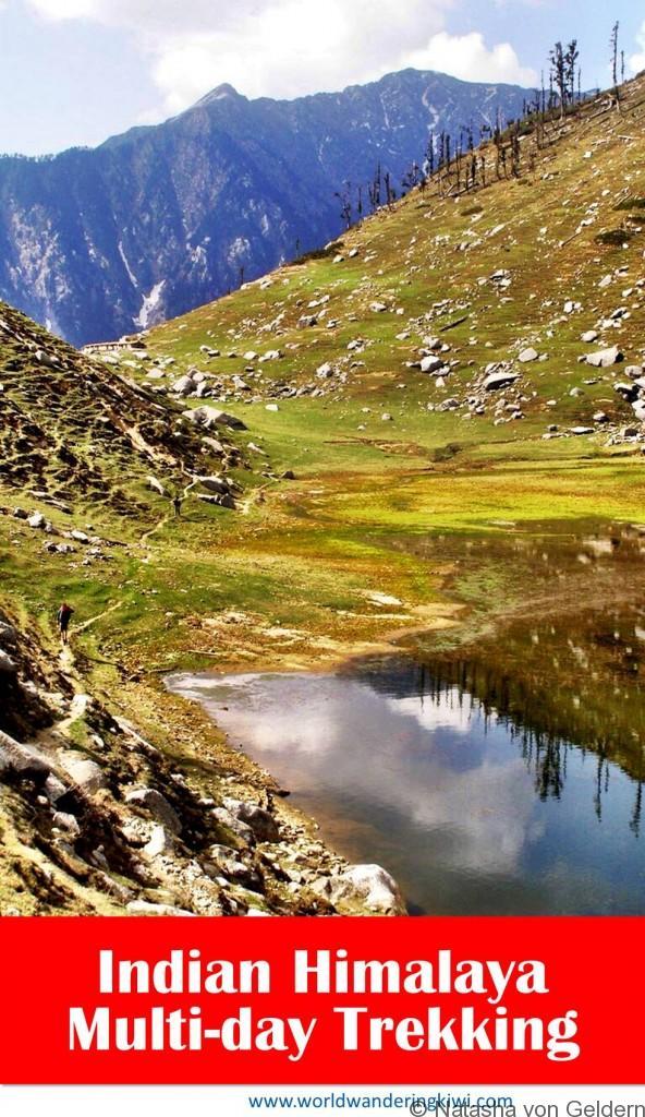 Multi Day Trek from Dharamshala India Himalaya