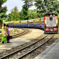 All aboard the Kangra Valley Railway in India