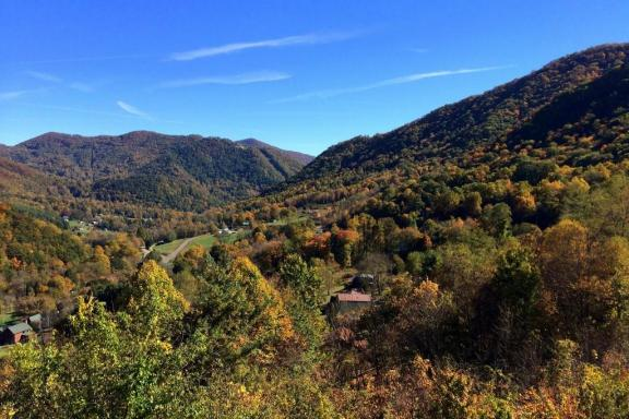 Maggie Valley from Soco Tower by Jared via Creative Commons