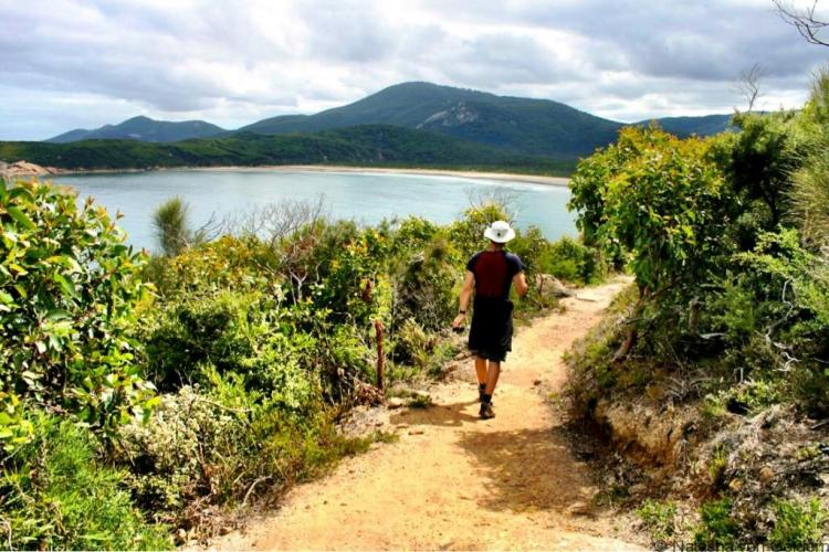 Pillar Point walk Wilsons Promontory Victoria Australia