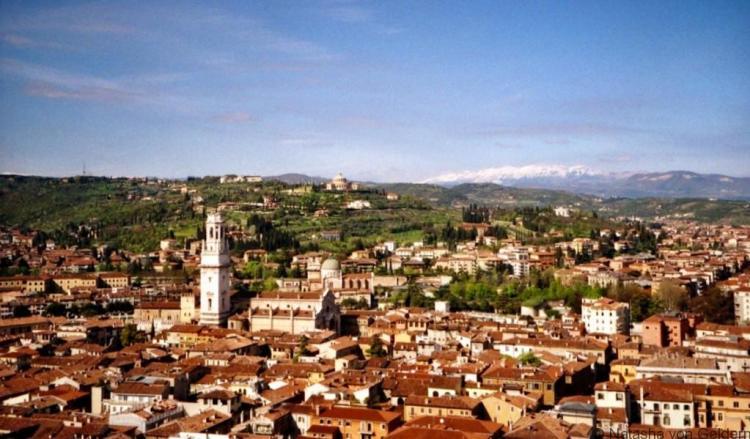 View of Verona Italy