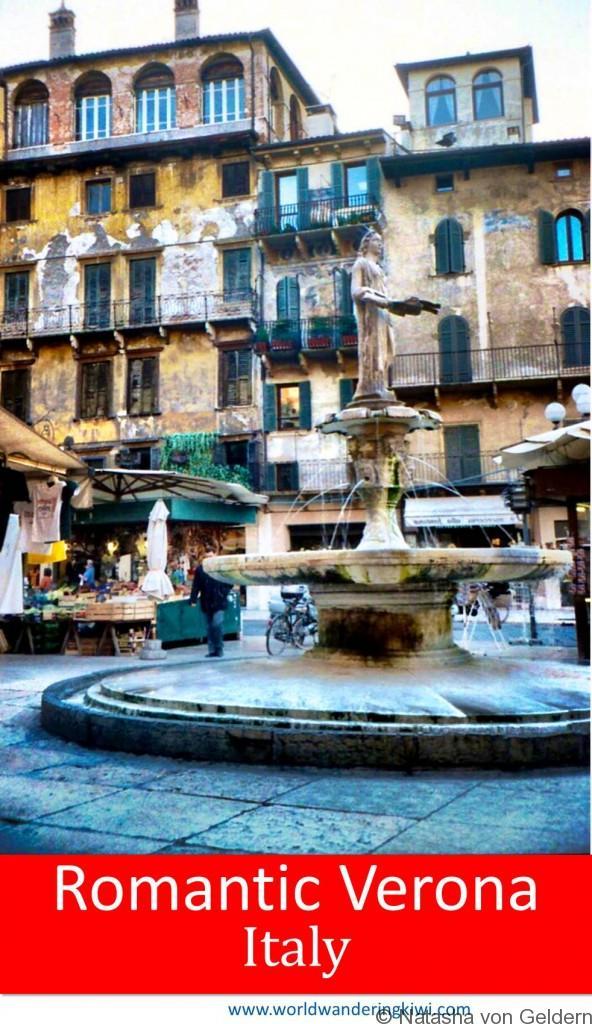 Wandering in Romantic Verona Italy