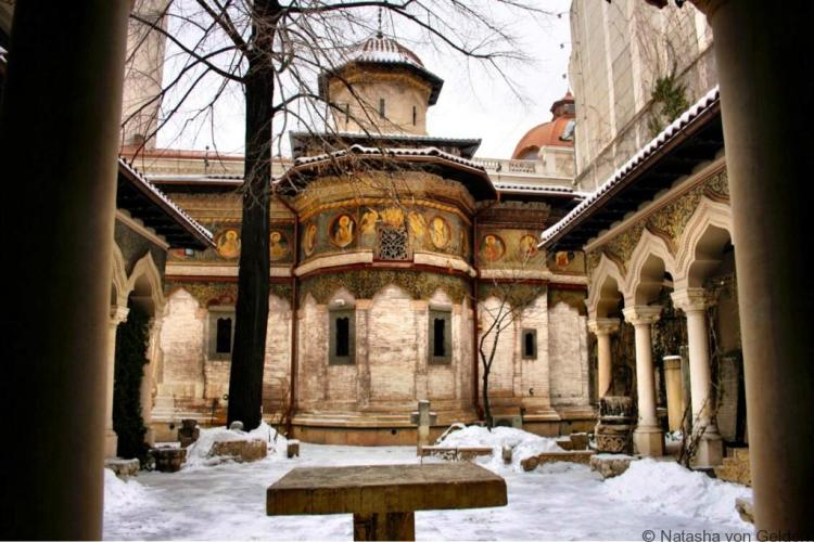 Historic Bucharest Church Romania