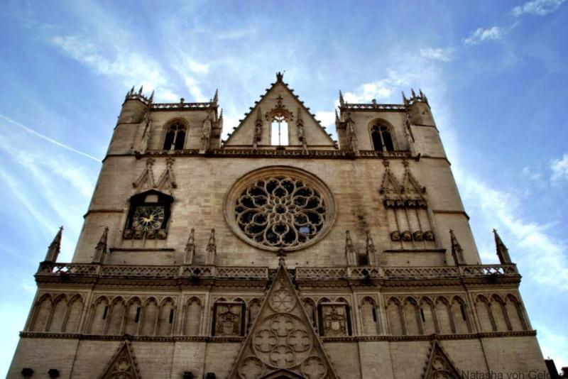Sant Jean Cathedral Lyon France