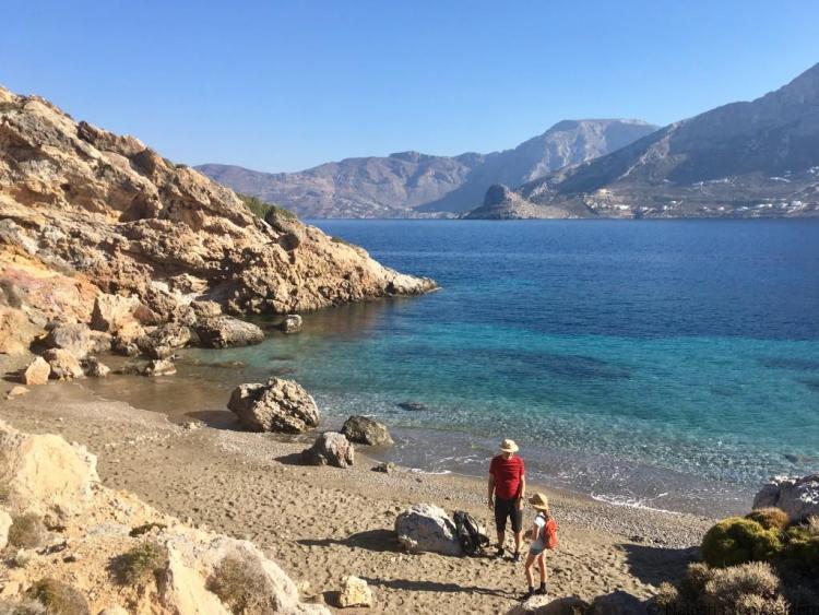 Telendos Paradise Beach Kalymnos holidays Greece