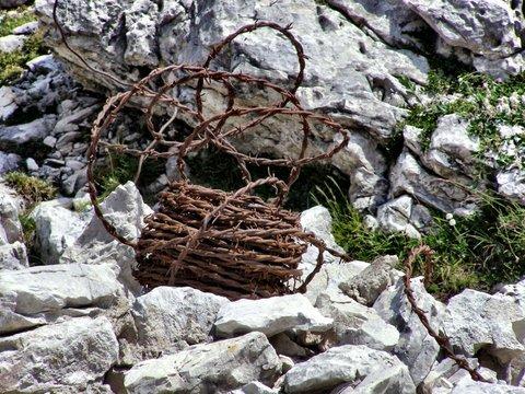WW1 battlegrounds of the Italian Dolomites Mountains