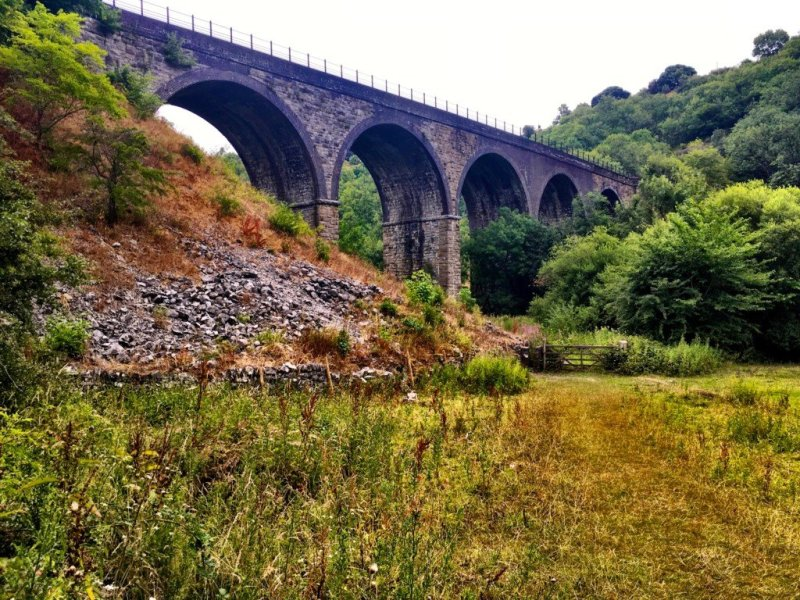 Monsal Viaduct Derbyshire UK
