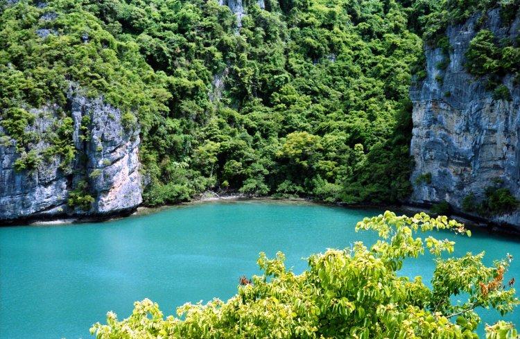 An Thong Marine Park near Koh Samui Thailand