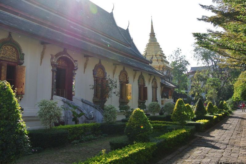 Wat Chiang Man in Chiang Mai Thailand